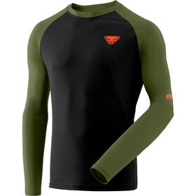 Dynafit Alpine Pro Langærmet T-shirt Herrer, oliven/sort